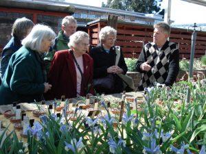 A visit behind the scenes at Kew